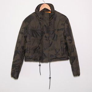Bagatelle . NYC Camo Bomber Puff Jacket S_ NOWT